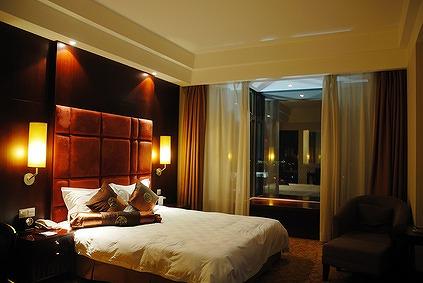 モダンなアジアホテル